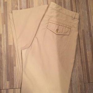 Banana Republic Cotten/linen pant size 14